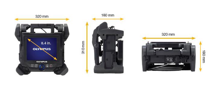 Các tính năng nổi bật của Endoscope 3D nâng cao: Máy nội soi công nghiệp Olympus IPLEX NX được cấu hình cho nhiều nhiệm vụ kiểm tra khác nhau, có 2 phiên bản khác nhau như với các đầu dò 6,0 mm có chiều dài từ 3,5m đến 7,5m và đầu dò 4,0mm với chiều dài 3,5m và 5m. Đầu thăm dò mịn hơn cho phép tiếp cận những không gian rất hạn chế như giữa các ống trao đổi nhiệt hoặc cánh tuabin. Cấu trúc nhỏ gọn và mạnh mẽ của thiết kế Olympus IPLEX NX đã đạt được Xếp hạng Bảo vệ Quốc tế IP55 và tuân thủ các tiêu chuẩn quân sự nghiêm ngặt của Hoa Kỳ về khả năng chống bụi và mưa, cũng như thử nghiệm rơi. Màn hình hiển thị lớn 8,4 inch có màn hình quan sát ánh sáng ban ngày chống phản chiếu giúp người dùng quan sát rõ hơn, cho phép kiểm tra chính xác ngay cả trong ánh sáng mặt trời trực tiếp. Kích thước nhỏ hơn khiến iPlex NX trở nên lý tưởng cho các vị trí có giới hạn về khả năng tiếp cận của người vận hành bao như nồi hơi, thân máy bay, động cơ và hộp số tuabin gió,... các nơi mà con người không thể tiếp cận