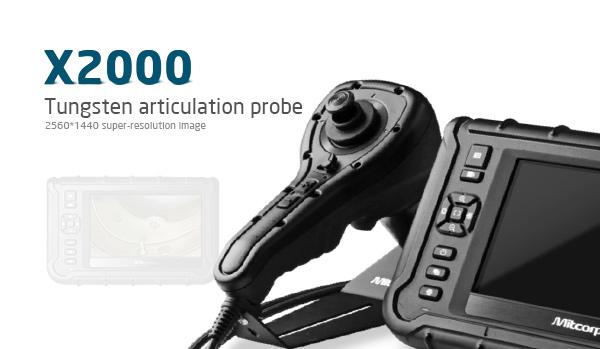 INDUSTRIAL Endoscope X2000 HD