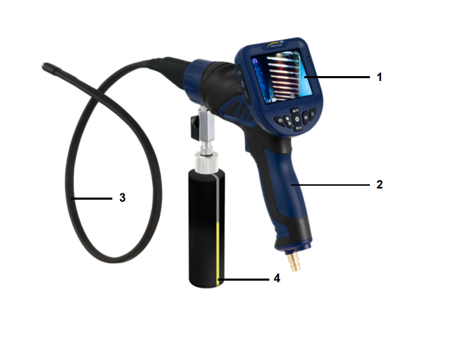 Nơi bán Endoscope - Máy ảnh kỹ thuật số tích hợp chức năng làm sạch khác xa với các sản phẩm cùng thời kỳ vì được thiết kế đặc biệt của sản phẩm. Làm cho nó trở nên đặc biệt khi được sử dụng trong đời sống hằng ngày Nơi bán Endoscope cho ta thiết bị như thế nào để sử dụng? Đối với máy ảnh nội soi PCE-VE 250 ở phiên bản lần này nó hoàn toàn khác biệt với các thiết kế trước đây chẳng hạn như đầu dò camera được tích hợp luôn với máy làm sạch. Được sử dụng bởi khí nén hoặc chỉ là không khí kết hợp với nước và các chất tẩy rửa. Nhờ vào tính năng nổi bật này, cho nên được sử dụng vào việc kiểm tra các bộ phận cơ học Vòi phun nằm ngay bên cạnh đầu camera đó là một ưu điểm tiện cho việc sử dụng khi kiểm tra ở các nơi thiếu ánh sáng, các vùng tối,... Tăng độ chính xác khi ta sử dụng khi ta sử dụng không khí hay nước để làm sạch vật gì đó. Dây cáp của thiết bị có chiều dài khoảng 90cm, bán cứng linh hoạt có thể định hình và độ đàn hồi vừa phải. Đó cũng là điểm nổi bật trong khi kiểm tra phải đi qua các nơi hạn hẹp, ngoằn ngoèo hay qua nhiều khúc cua,.... Thiết bị được trang bị trên thân một van, khi ta xoay nó thì ta sẽ điều chỉnh được xả hay dừng. Sử dụng khí nén để làm sạch các chất bẩn trên đường nó di chuyển và cả thứ còn sót lại trên đầu dò đều được tống ra ngoài bằng lực khí nén Nơi bán Endoscope Series PCE-VE 250 có đặc điểm gì và tính năng hoạt động ra sao? - Điểm yếu ở thiết bị này có dây cáp chỉ dài khoảng 90cm ( 2ft - 11''inch) nhưng dây cáp lại có độ bán cứng và độ đàn hồi vừa hồi thích hợp đi qua các khe hở nhỏ, các khúc uốn cong,... giúp ta thu được kết quả ngoài mong đợi. Và ở đầu dò camera được tích hợp vòi phun làm sạch mọi thứ bằng khí nén thông qua bộ phận kích hoạt Để tắt hay mở van khi ta sử dụng hay dừng lại được cài đặt trên thân máy, ngay tay cầm để cho tiện việc điều khiển. Bằng cách lật van là ta có thể tắt mở thiết bị Dây cáp được trang bị với vỏ bên ngoài bằng cao su bán mềm, chống thấm nước, bụi bặm, các chất bán bẩn,.... - Tất cả các hình ảnh hay